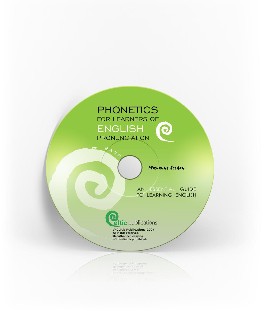 Phonetics for Learning of English Pronunciation - Audio CD