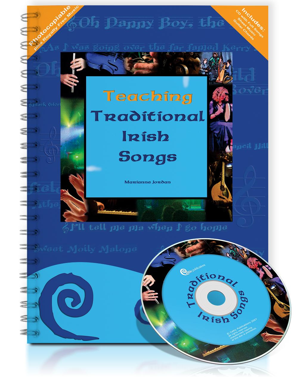Traditional Irish Songs - Teacher's Book (photocopiable)